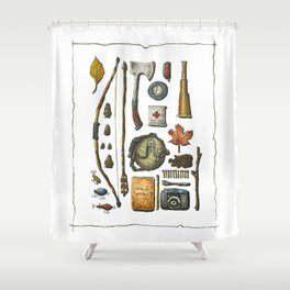 Little Camper Series No. 1 Shower Curtain