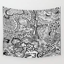 Calling Out Wall Tapestry