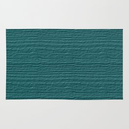 Teal Wood Grain Color Accent Rug