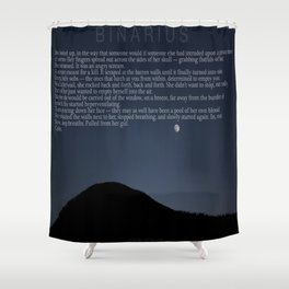 CALM. Shower Curtain