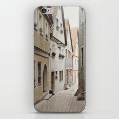 Italian Alley - Muted Tones iPhone & iPod Skin