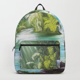 Surreal Landscape Backpack