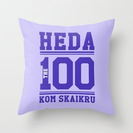 Heda Kom SkaiKru Throw Pillow