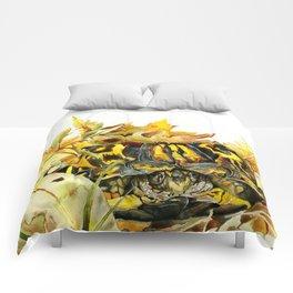 Eastern Box Turtle Comforters