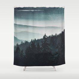 Mountain Light Shower Curtain