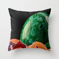 easter Throw Pillows featuring Easter by Karl-Heinz Lüpke