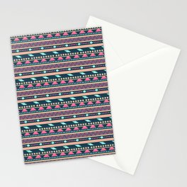 Colorful Aztec Tribal Pattern Stationery Cards
