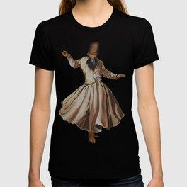 Whirling Dervish Conveys God's Spiritual Gift T-shirt