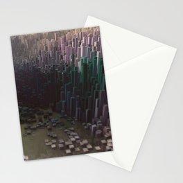 3d landscape Stationery Cards