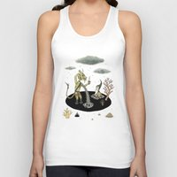 pool Tank Tops featuring Shifting Tide Pool by Jon MacNair