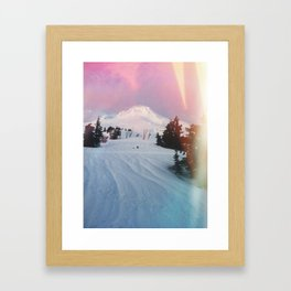 Northwest Mountain Framed Art Print