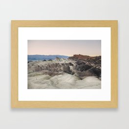 Little People, Big Places 1 (series of 4) Framed Art Print