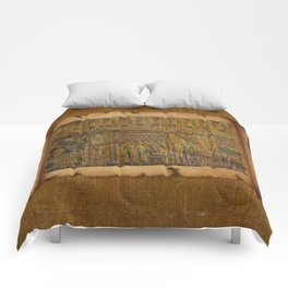 Ancient Egyptian Funerary Scroll pre 944 BC Comforters