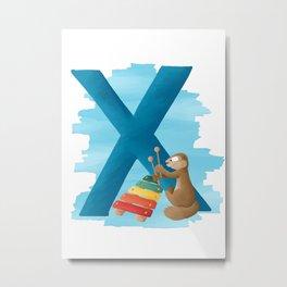 X comme Xerus Metal Print