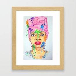 Colors Spots Framed Art Print