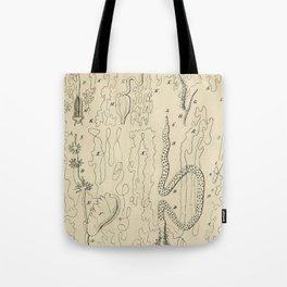 Microscopic Biology Tote Bag