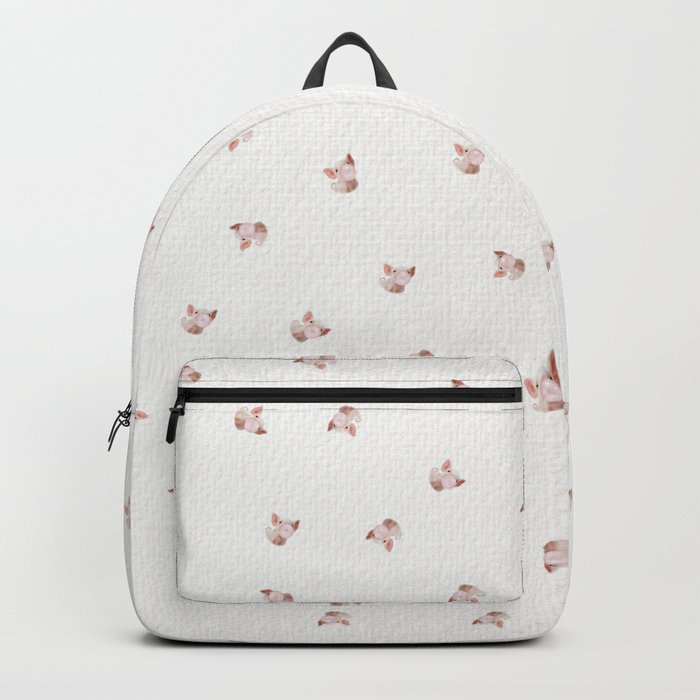 Bubble Gum Baby Pig Backpack