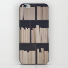 Books books books iPhone & iPod Skin