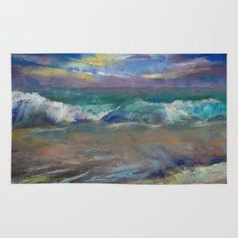 Moonlit Waves Rug