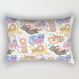 Sprinkles on Donuts and Whiskers on Kittens Rectangular Pillow