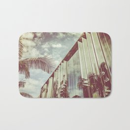 Beverly Hills - Palm Reflections III Bath Mat