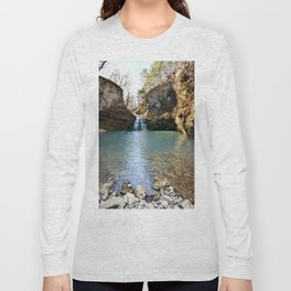 Alone in Secret Hollow with the Caves, Cascades, and Critters, No. 2 of 21 Long Sleeve T-shirt