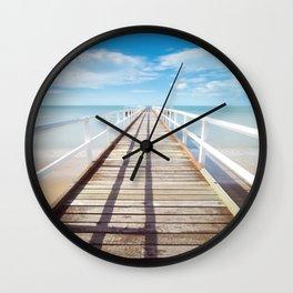 Pier sky 4 Wall Clock