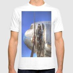 Lisunov Li-2 White MEDIUM Mens Fitted Tee