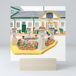 AFTERNOON TEA IN SURREY Mini Art Print