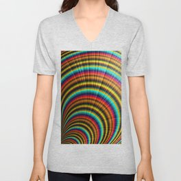 All Around The Rainbow Unisex V-Neck