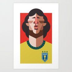 Z10 | A Seleção Art Print