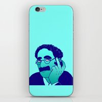 marx iPhone & iPod Skins featuring Groucho by Rachcox
