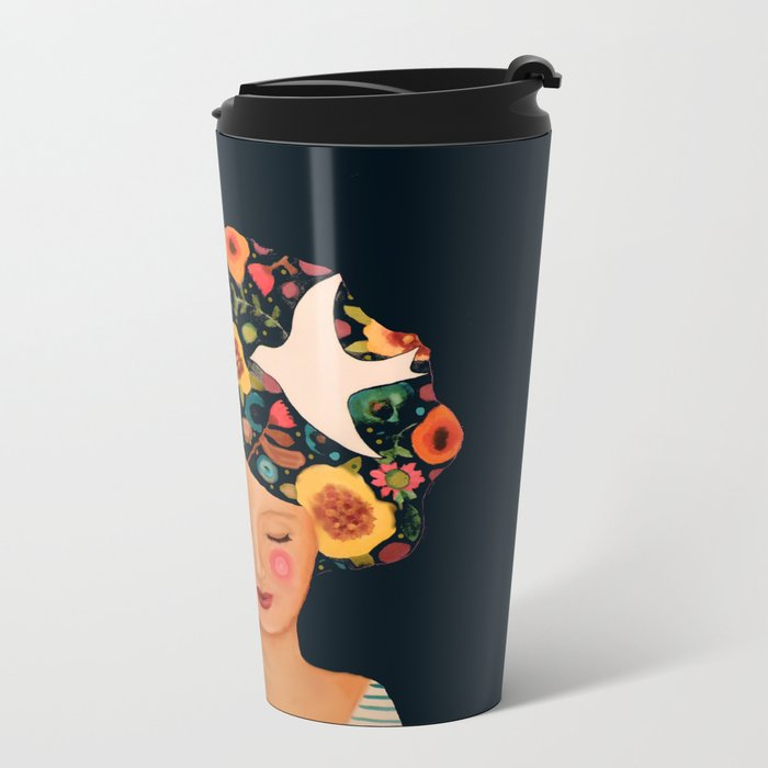 rosarita Metal Travel Mug