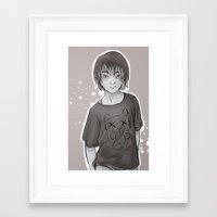 dallas Framed Art Prints featuring Dallas by Vaughn Gogh