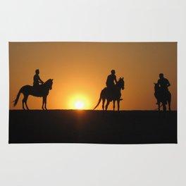 Three Horsemen Rug