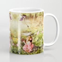 Fairy Mirabell And The Golden Key Coffee Mug