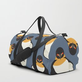 Emperor Penguin, Animal Portrait Duffle Bag