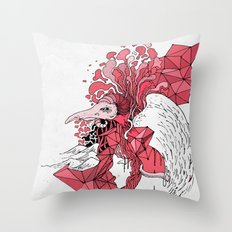 Bubblegum Parody Throw Pillow