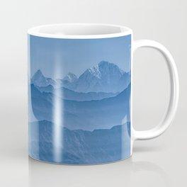 Blue Hima-layers Coffee Mug
