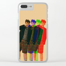 3D Chanyeol Clear iPhone Case