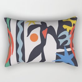 inspired to Matisse (black) Rectangular Pillow
