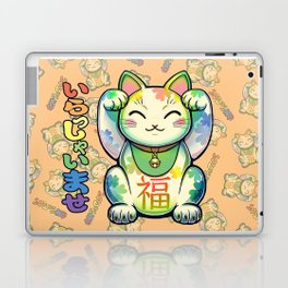 Maneki Neko Lucky Laptop & iPad Skin
