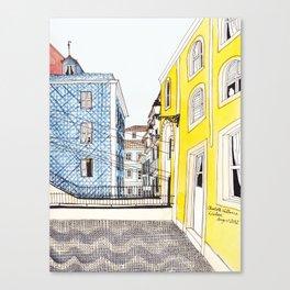 Beautiful Lisbon by Charlotte Vallance Canvas Print