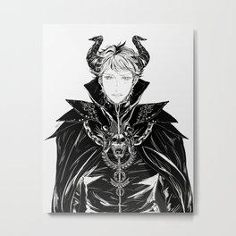 Demon King Oikawa Metal Print