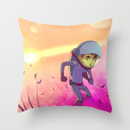 Scape from Supernova Throw Pillow