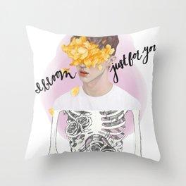 Bloom Tour Shirt Throw Pillow