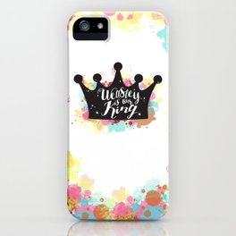 Weasley is our King iPhone Case