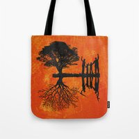family Tote Bags featuring Family by Last Call