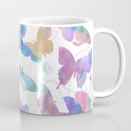 seamless   pattern of watercolor butterflies Coffee Mug