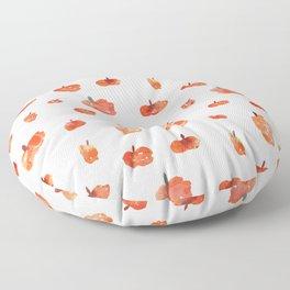 Watercolor Pumpkins Floor Pillow